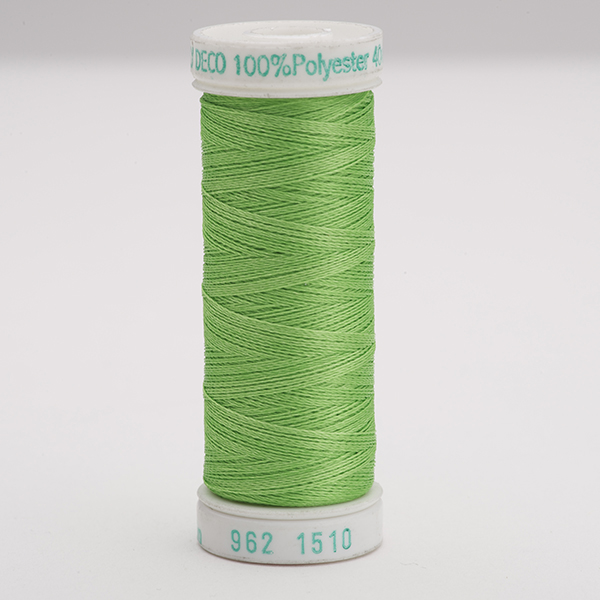 SULKY POLY DECO 40, 225m Snap Spulen -  Farbe 1510 Lime Green