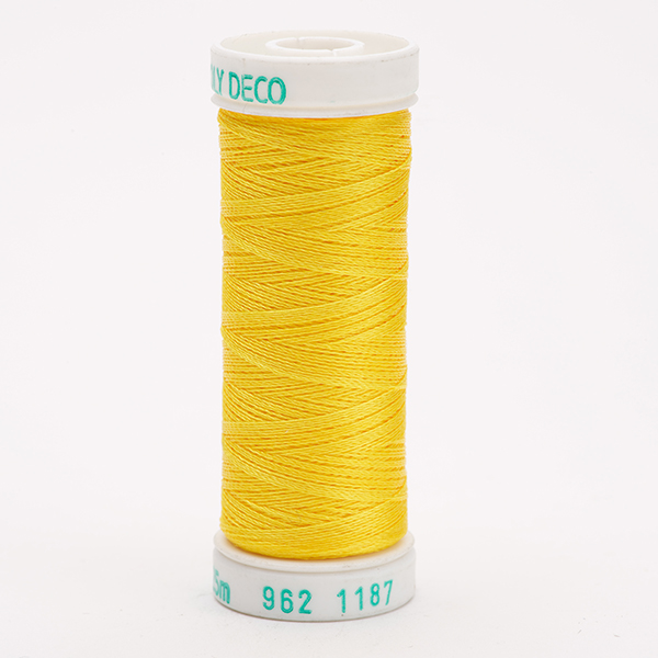 SULKY POLY DECO 40, 225m Snap Spulen -  Farbe 1187 Mimosa Yellow