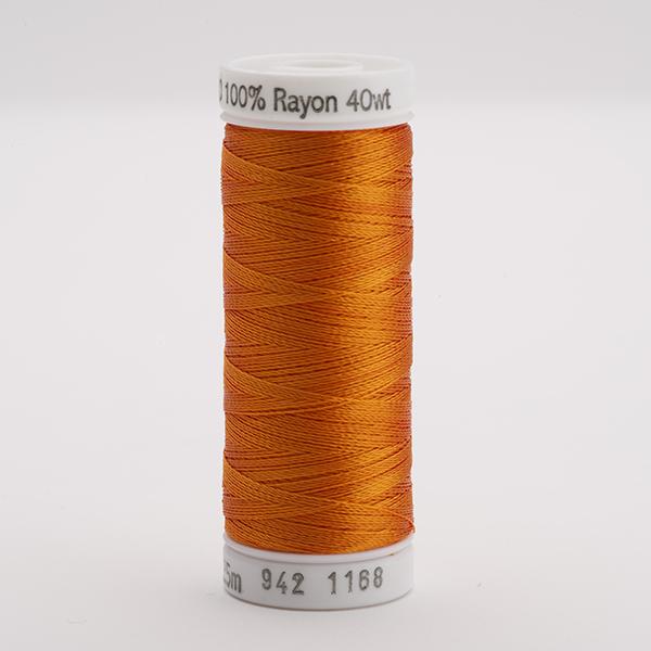 SULKY RAYON 40 farbig, 225m Snap Spulen -  Farbe 1168 True Orange