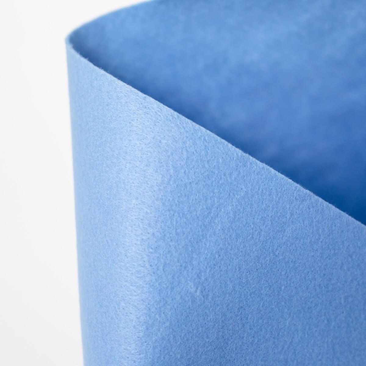 SULKY FELTY, waschbar, 25cm x 3m - Farbe 450 pastell blau