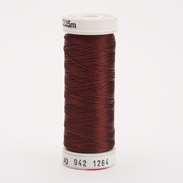 SULKY RAYON 40 farbig, 225m Snap Spulen -  Farbe 1264 Cognac
