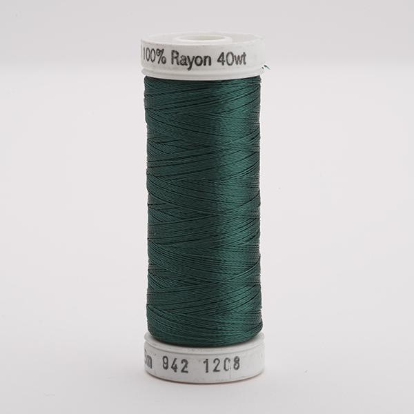 SULKY RAYON 40 farbig, 225m Snap Spulen -  Farbe 1208 Mallard Green