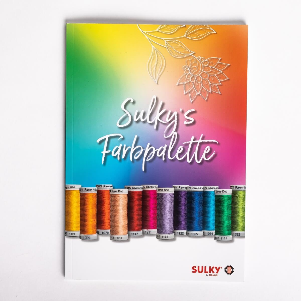 SULKY´s Farbpalette - 60 Seiten Booklet