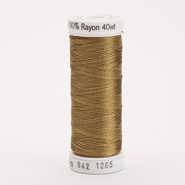 SULKY RAYON 40 farbig, 225m Snap Spulen -  Farbe 1265 Burnt Toast