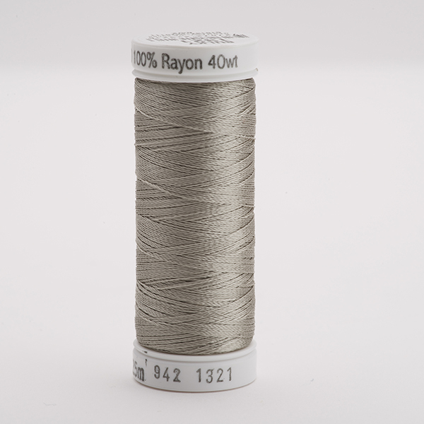 SULKY RAYON 40 farbig, 225m Snap Spulen -  Farbe 1321 Gray Khaki