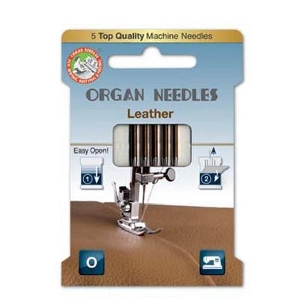 Organ Needles Leather Sortiment