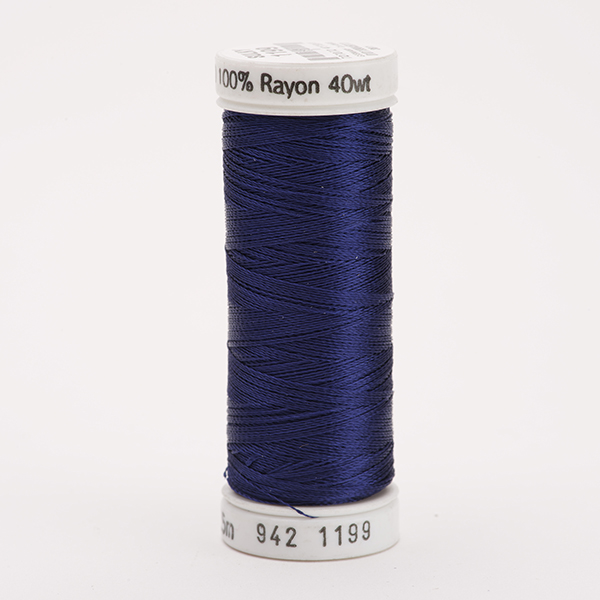 SULKY RAYON 40 farbig, 225m Snap Spulen -  Farbe 1199 Admiral Navy Blue