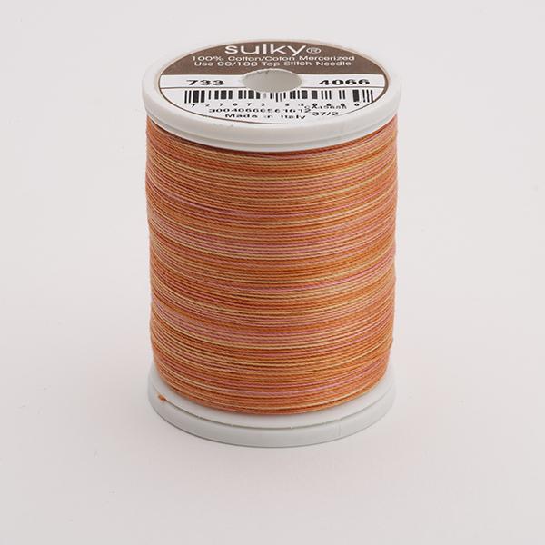 SULKY COTTON 30, 450m King Spulen -  Farbe 4066 Rusty Sky  multicolour