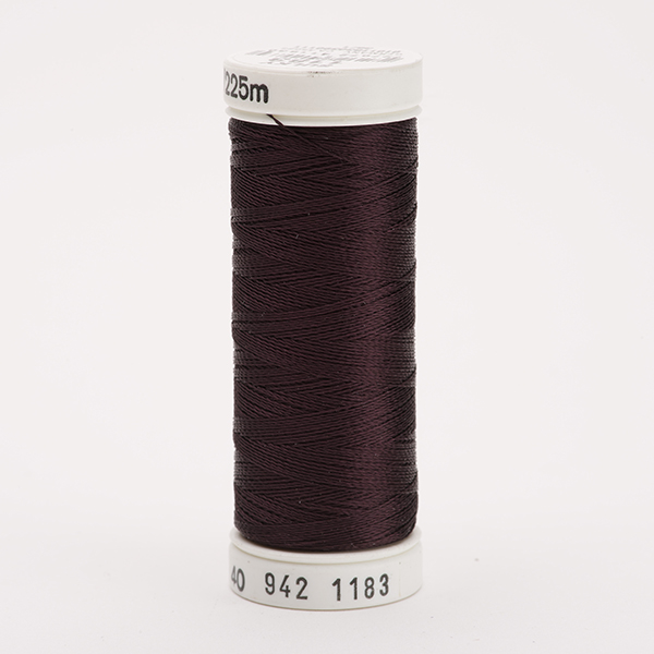 SULKY RAYON 40 farbig, 225m Snap Spulen -  Farbe 1183 Black Cherry
