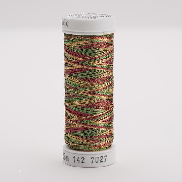 SULKY ORIGINAL METALLIC multicolor, 126m Snap Spulen - Farbe 7027 Multi