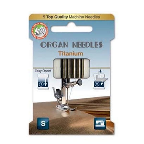 Organ Needles Titanium Stärke 80
