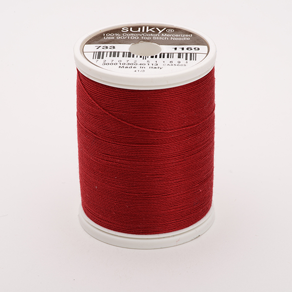 SULKY COTTON 30, 450m King Spulen -  Farbe 1169 Bayberry Red