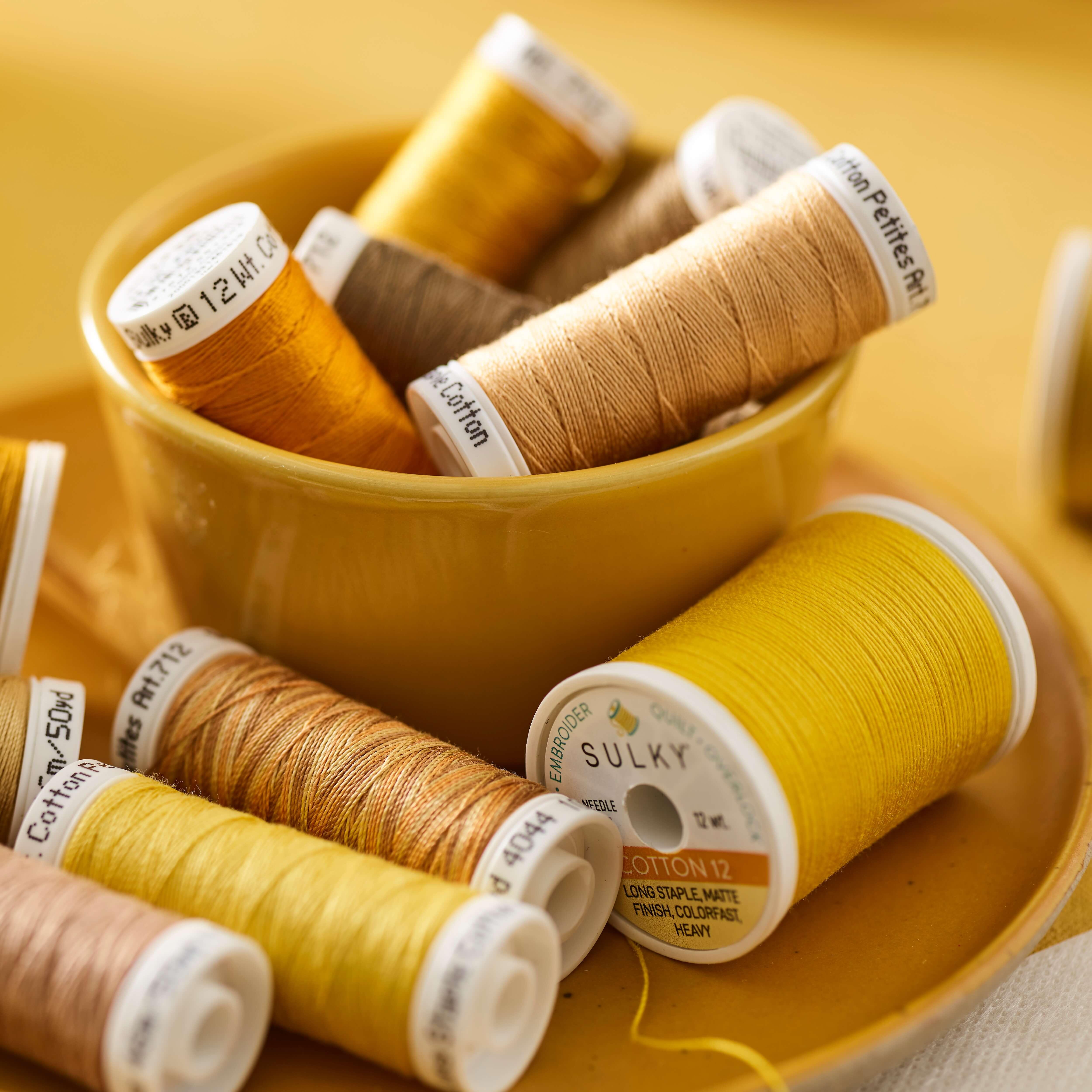 SULKY COTTON 12 - 100% Baumwolle