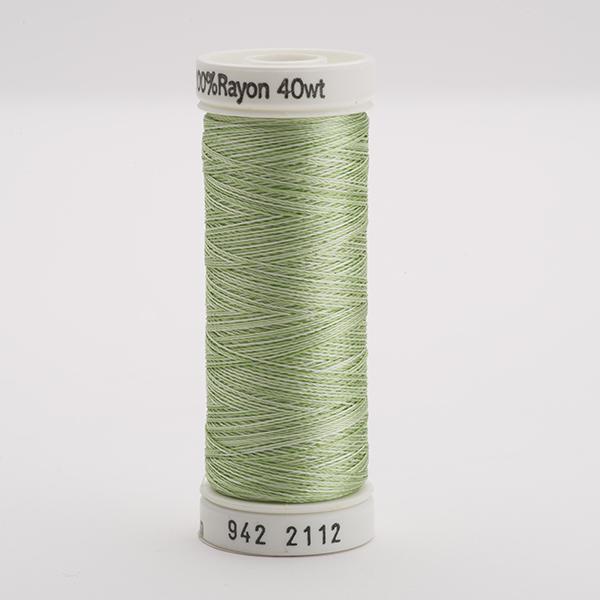 SULKY RAYON 40 ombre/multicolor, 225m Snap Spulen -  Farbe 2112 Vari-Mint Greens