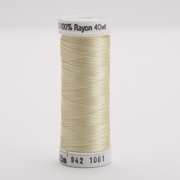 SULKY RAYON 40 farbig, 225m Snap Spulen -  Farbe 1061 Pale Yellow