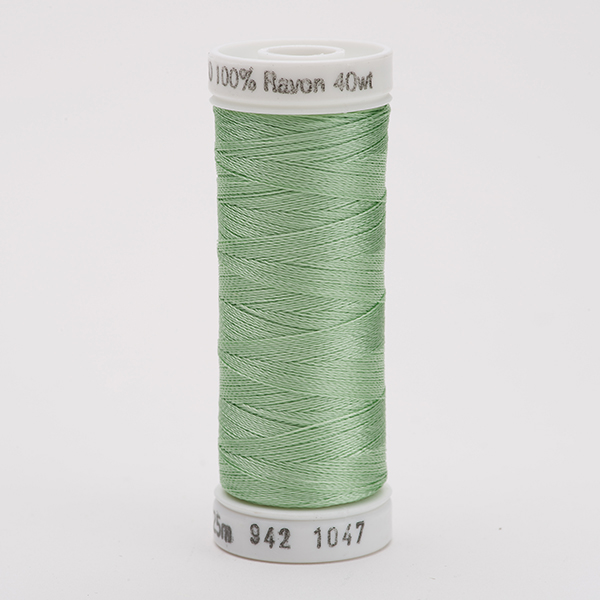 SULKY RAYON 40 farbig, 225m Snap Spulen -  Farbe 1047 Mint Green