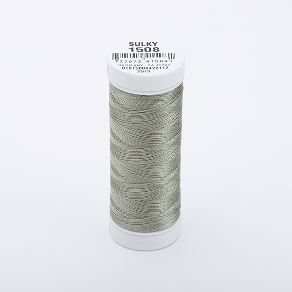 SULKY RAYON 40 farbig, 225m Snap Spulen -  Farbe 1508 Putty