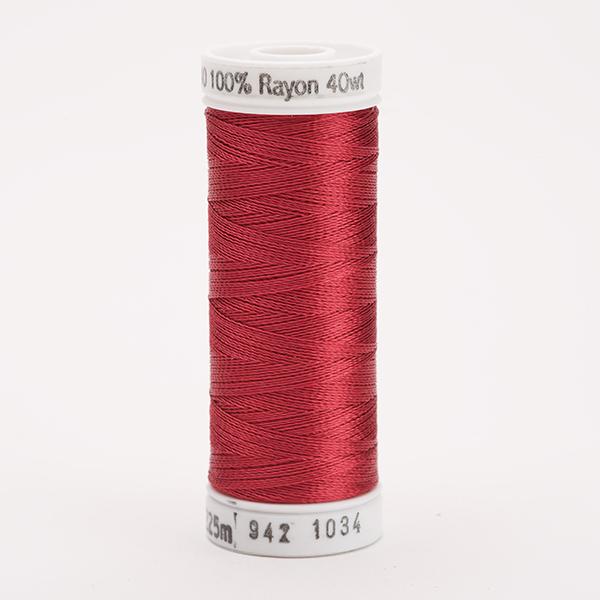 SULKY RAYON 40 farbig, 225m Snap Spulen -  Farbe 1034 Burgundy