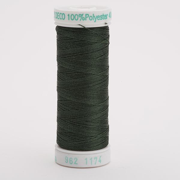 SULKY POLY DECO 40, 225m Snap Spulen -  Farbe 1174 Dk. Pine Green