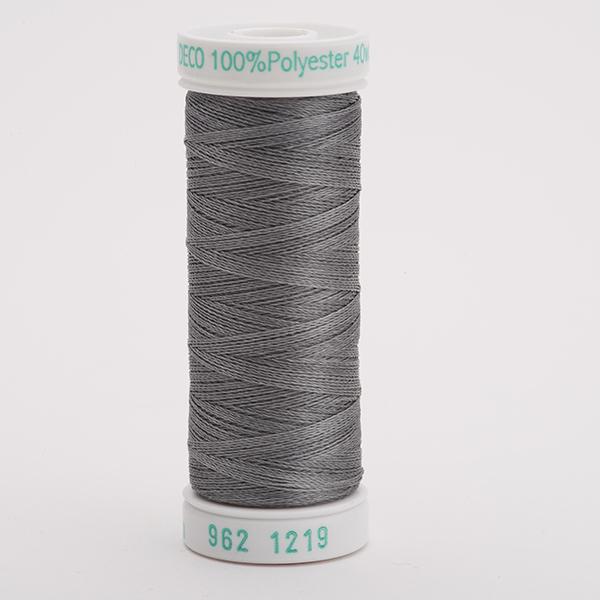 SULKY POLY DECO 40, 225m Snap Spulen -  Farbe 1219 Gray