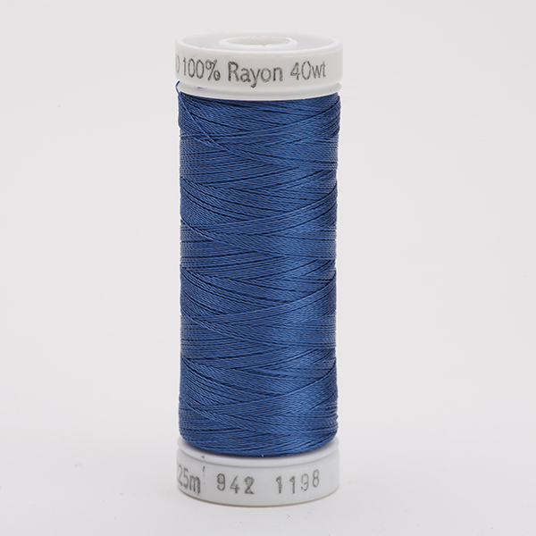 SULKY RAYON 40 farbig, 225m Snap Spulen -  Farbe 1198 Dusty Navy